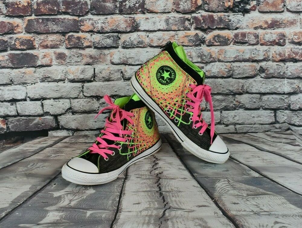 Converse Girls Size 6 8 Chuck Taylor All Star Zipback