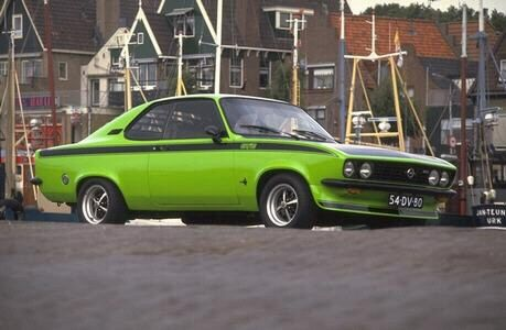 opel manta a gte lime green opel manta a pinterest. Black Bedroom Furniture Sets. Home Design Ideas