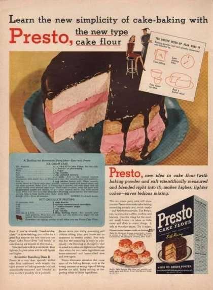 Presto Self Rising Cake Flour Recipes