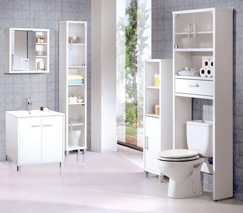 mueble-para-cuartos-de-bano-pequeños6 … | Cuarto de baño ...