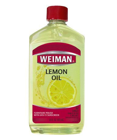 Weiman Lemon Oil 16 Oz Furniture Cleaner and Polish