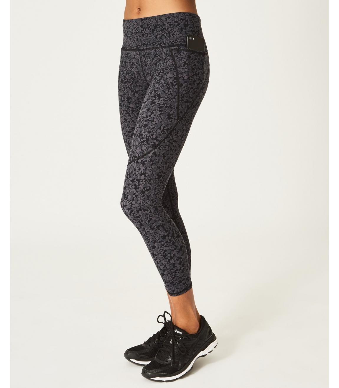 7a736619f7acb Power 7/8 Side Pocket Leggings - Tonal Hexagon Print | Women's Leggings |  Sweaty Betty