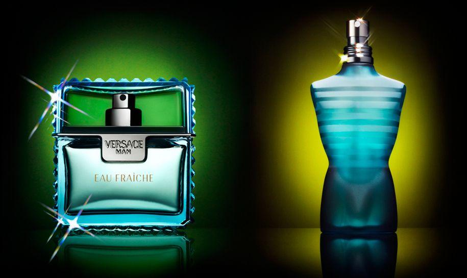 Versace Eau Fraîche Jean Paul Gaultier Le Male Perfume Bottles Bottle Perfume