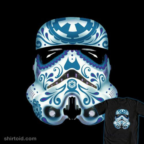 Shirtoid Star Wars Sugar Skull Star Wars Drawings Star Wars Love