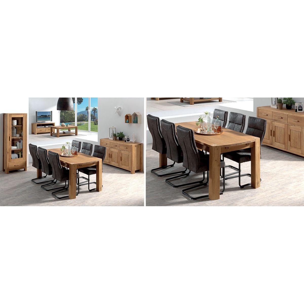 Meuble Tv Grande Taille meuble tv 2 tiroirs 1 grande niche en chêne huilé