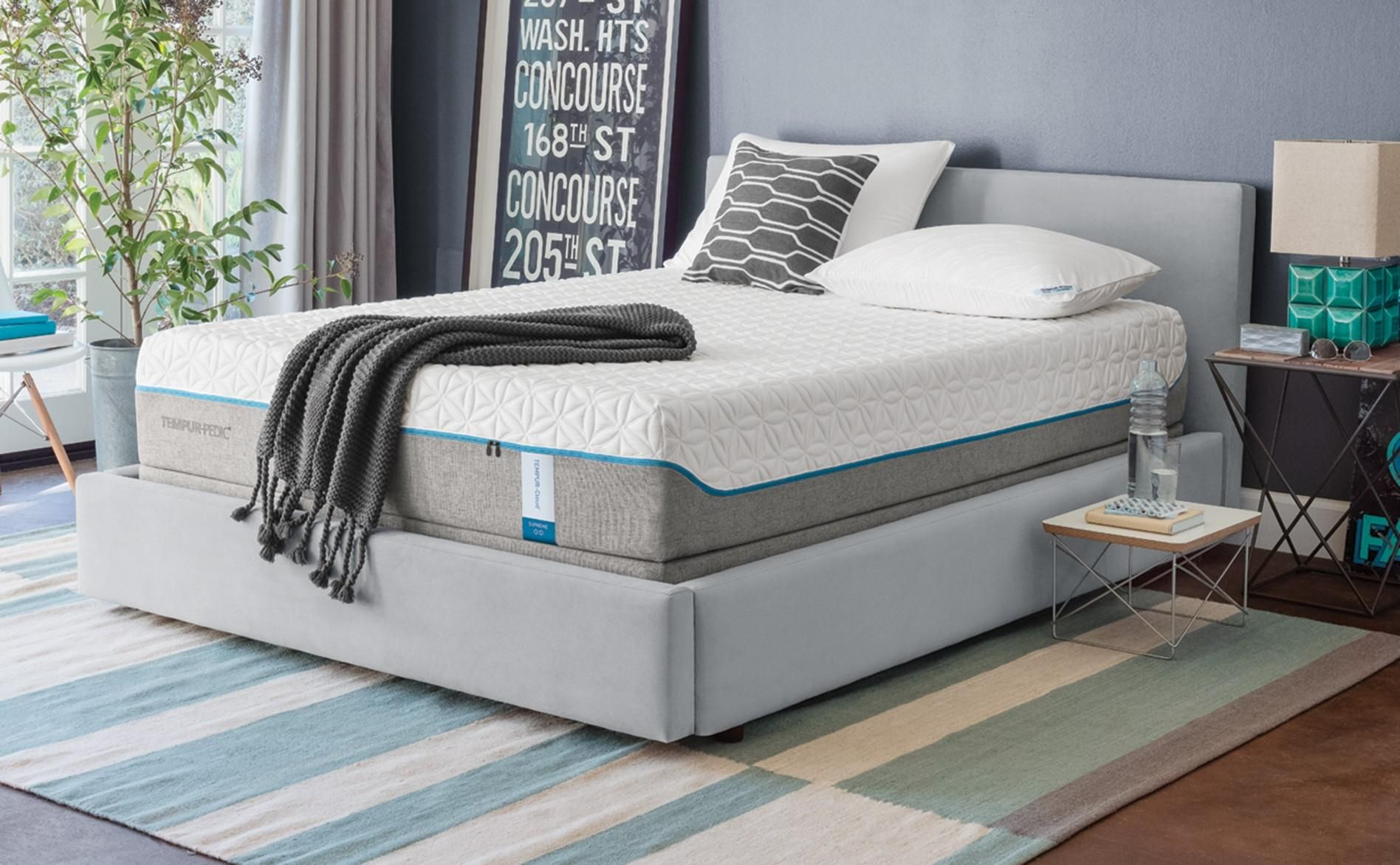 Mattresses Grey White Combination Color Wall Small Shaped Picture