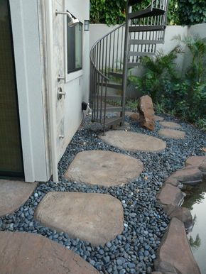 RockMolds.com Stepping Stones Photo Gallery #steppingstonespathway