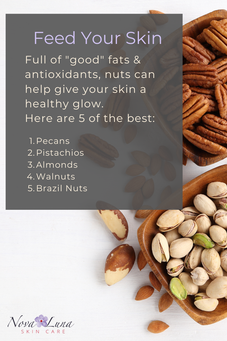 Who Knew Nuts Were Also Good For Our Skin Light Therapy Mask Healthy Skin Skin Care System