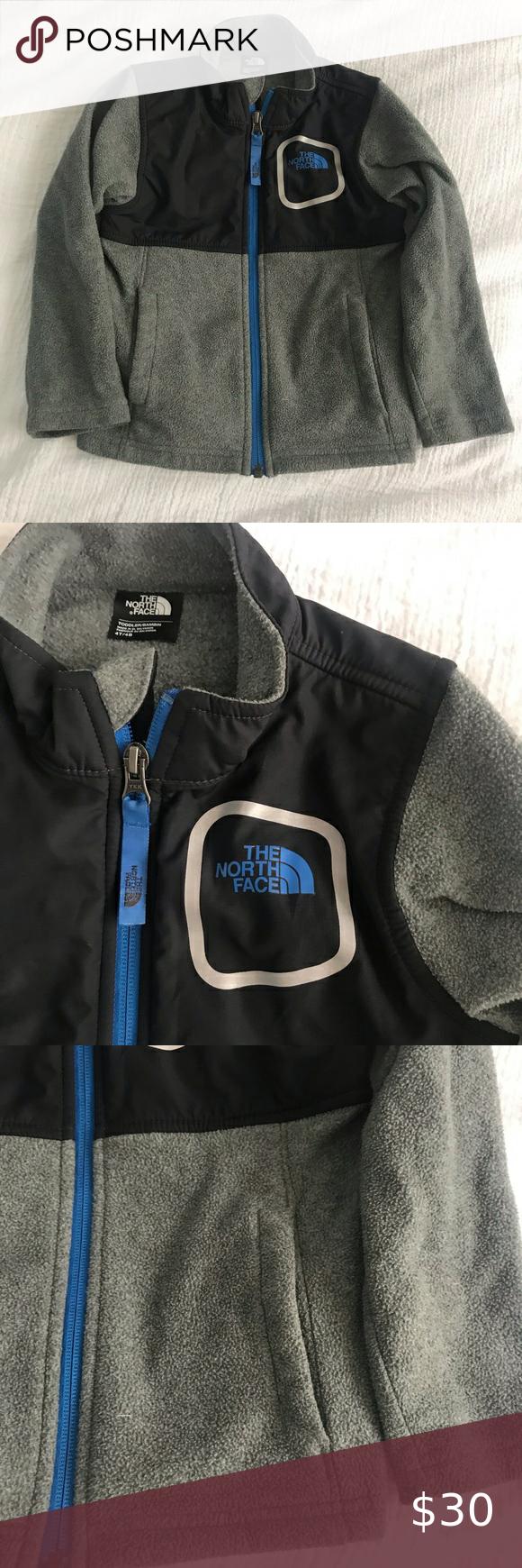 The North Face Fleece Zip Up Jacket Toddler 4t North Face Fleece The North Face Jackets [ 1740 x 580 Pixel ]