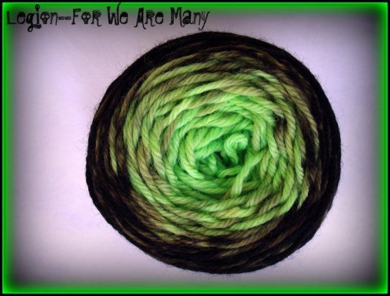 Legion For We Are Many. 137 yds bulky by FreshFromTheCauldron