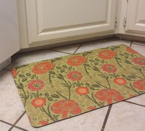 How To Make A Custom Fabric Rug Or Floor Mat Recover An Old Rug With Fabric Or A New One Fabric Rug Diy Rug Rugs
