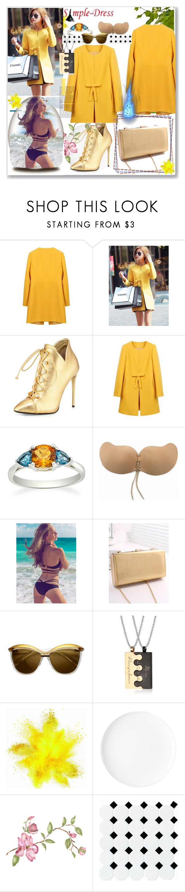 """www.simple-dress.com 7"" by ane-twist ❤ liked on Polyvore featuring Giuseppe Zanotti, modern and simpledress"