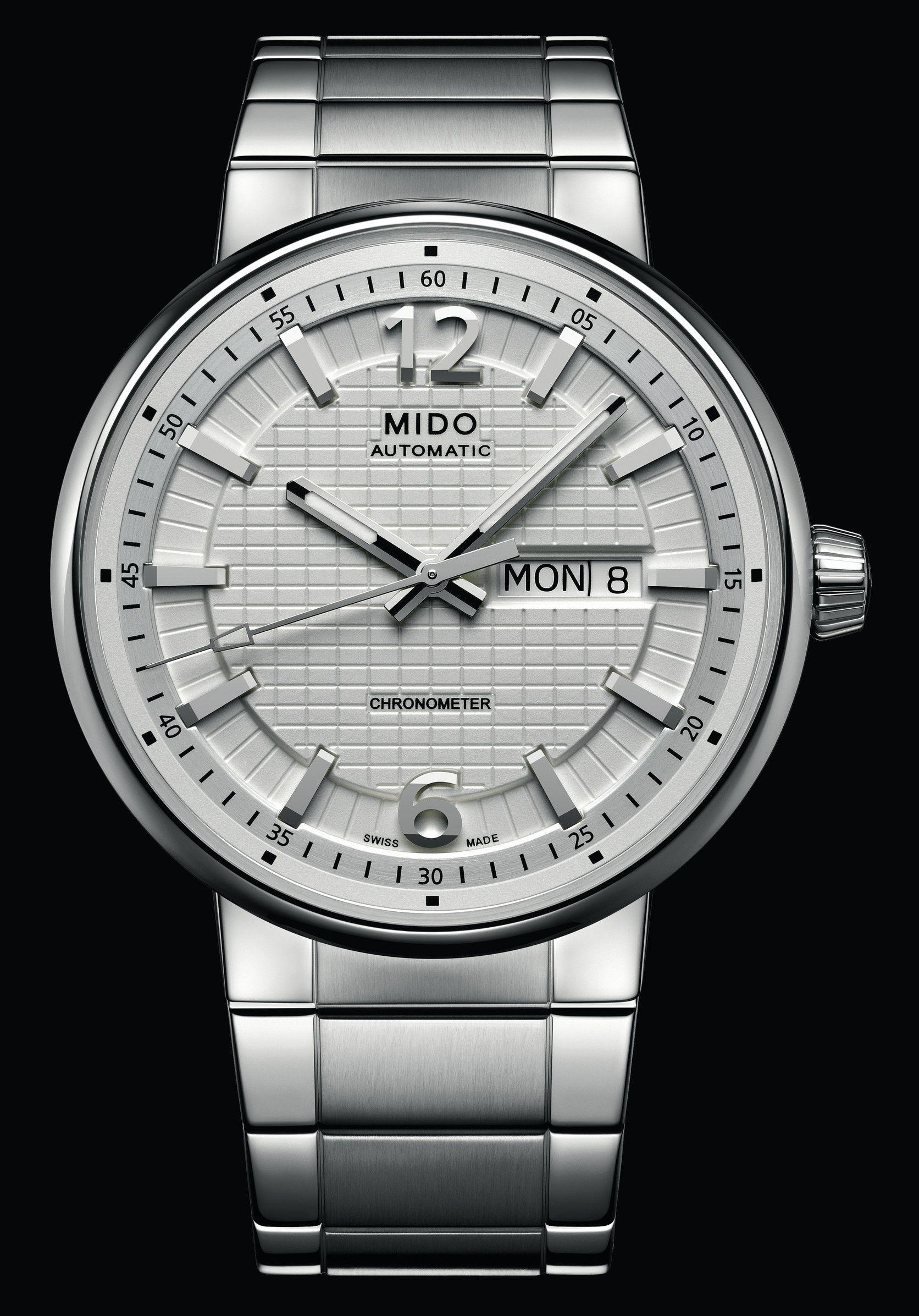 470b2077c1a O novo modelo da Mido para 2013 homenageia a grande muralha da China em  Presentwatch