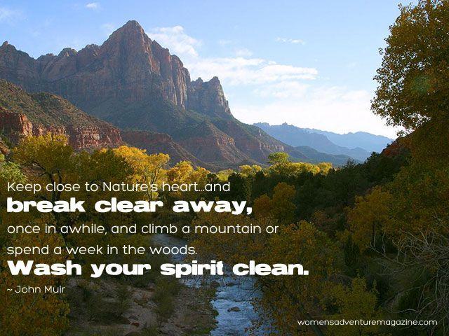 ...Wash Your Spirit Clean.