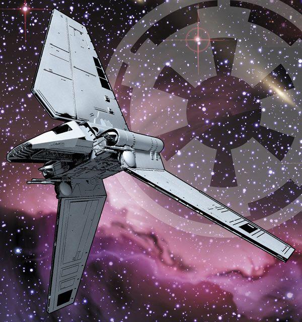 Lambda Class Shuttle   By Joe Corroney   Imperial Handbook
