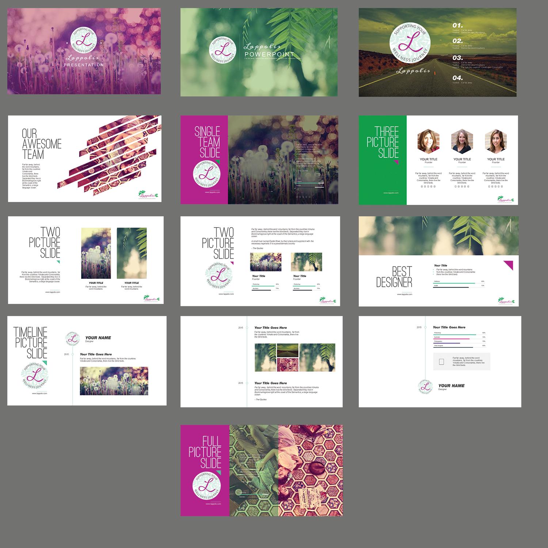 powerpoint designpower design for wellness bold & beautiful, Presentation templates