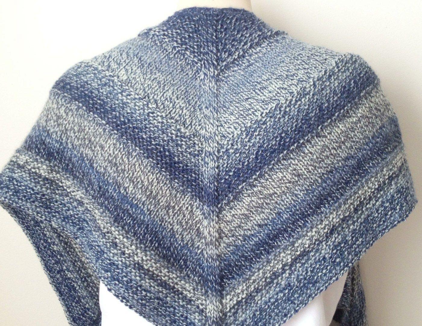Free Knitting Pattern : Weekender Shawl | Weekender, Knitting ...