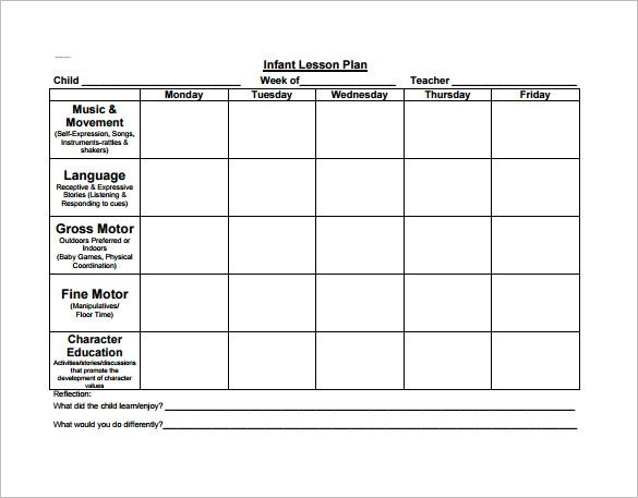 Image Result For Curriculum Planning Template Free  Childcare