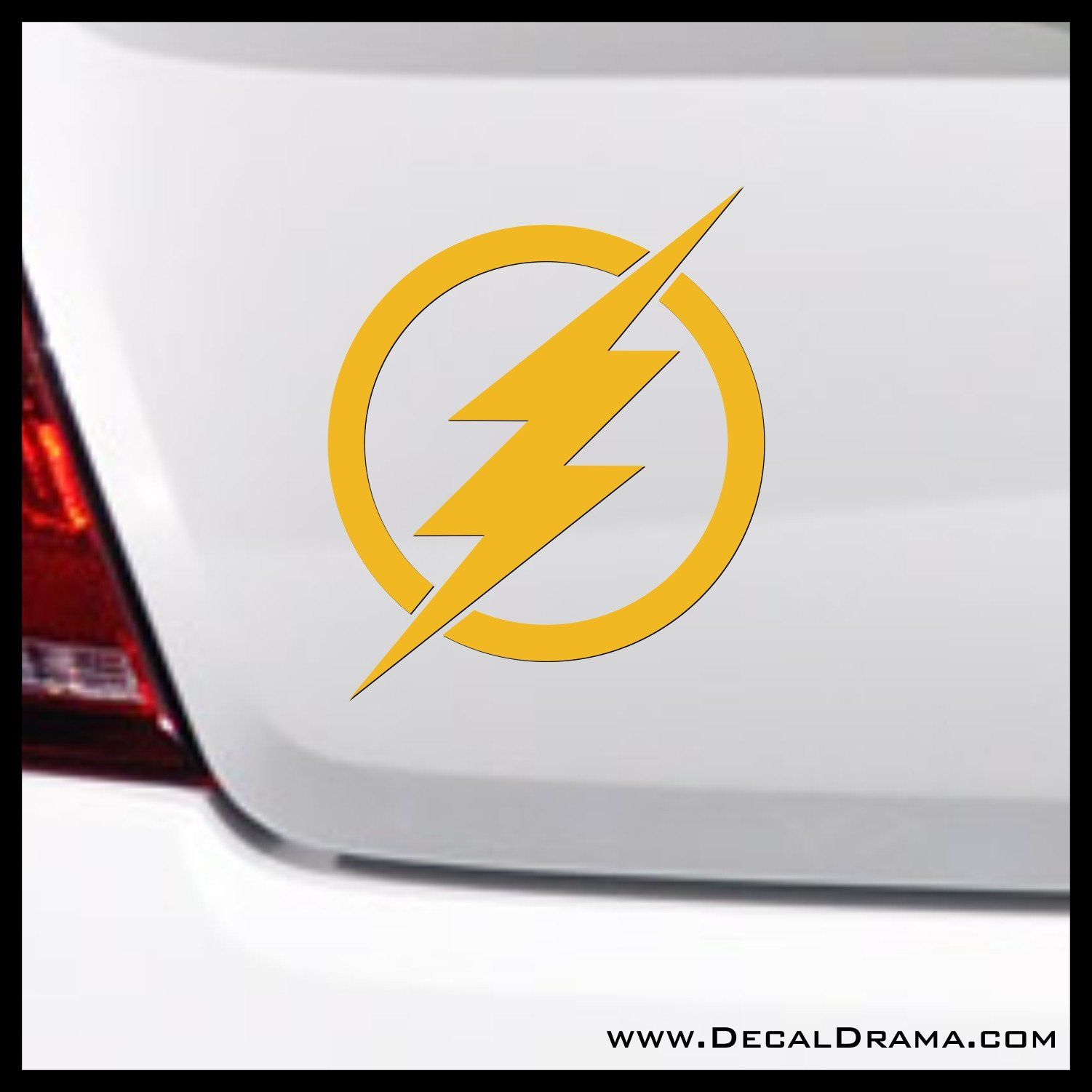 The Flash lightning emblem, DC Comics-inspired Justice League Fan ...