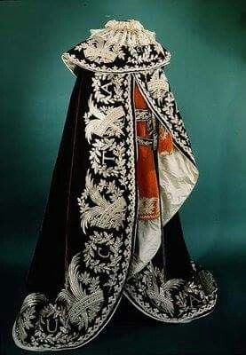 Austria. Official robe of a Knight of the Iron Crown.