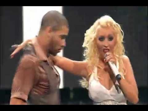 Christina Aguilera Slow Down Baby Live Back To Basics Dvd Christina Aguilera Baby Live Christina