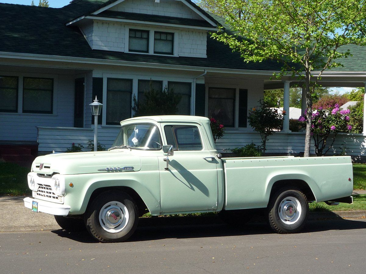 Vintage ford trucks curbside classic 1960 ford f 250 styleside the tonka