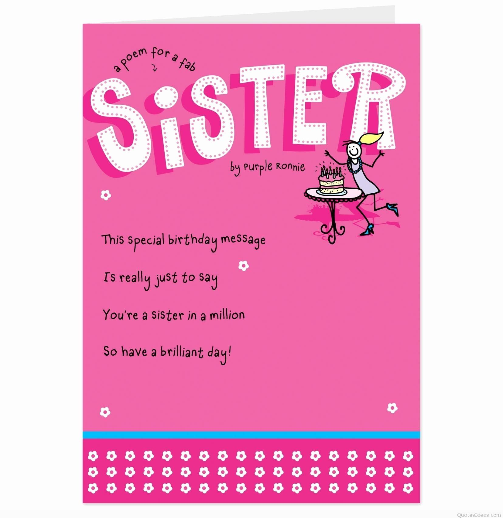 Niece Birthday Card in 2020 Sister birthday quotes
