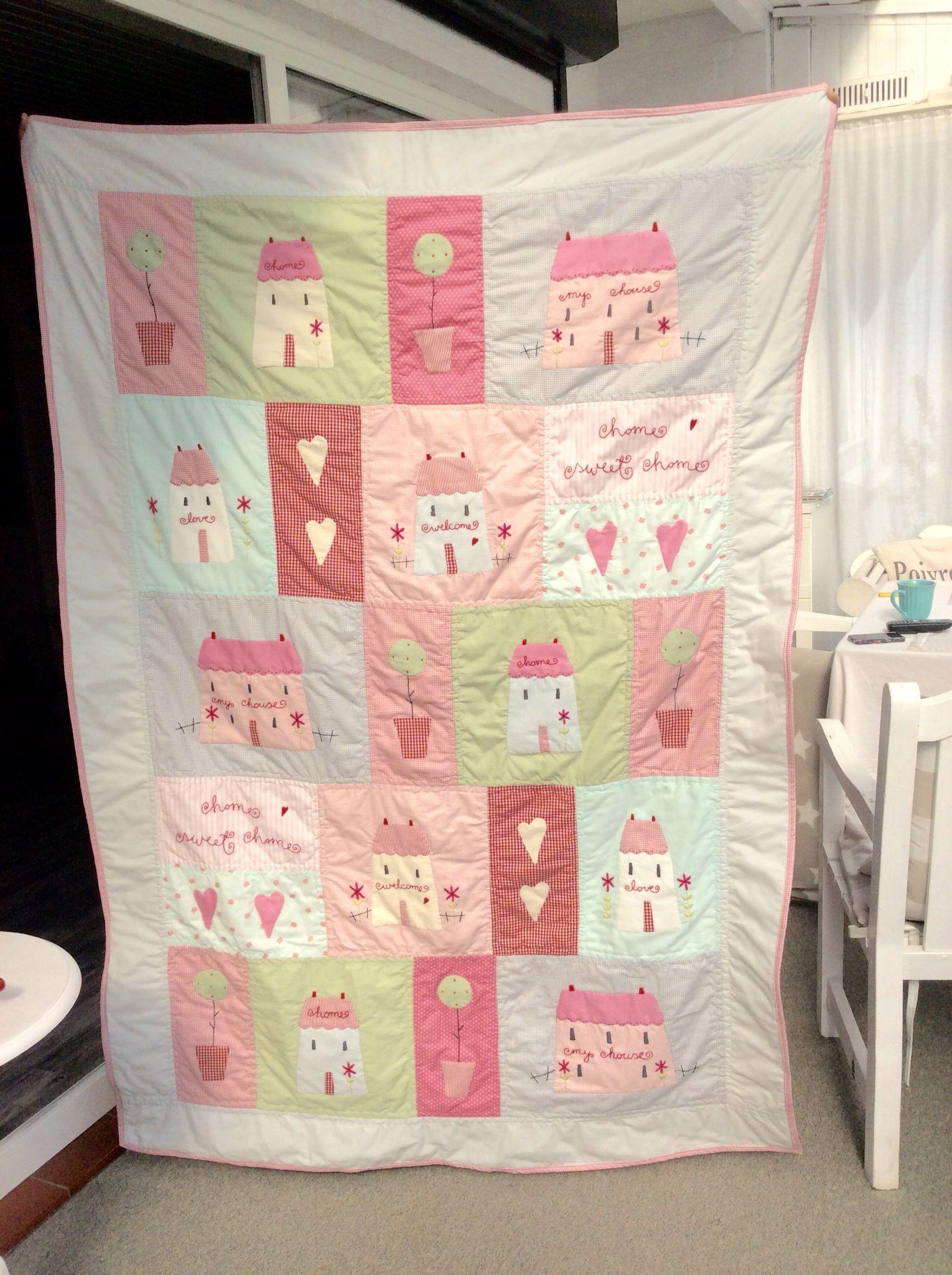 Meine Tilda Decke | Nähen | Pinterest | Deckchen, Decken und Nähen