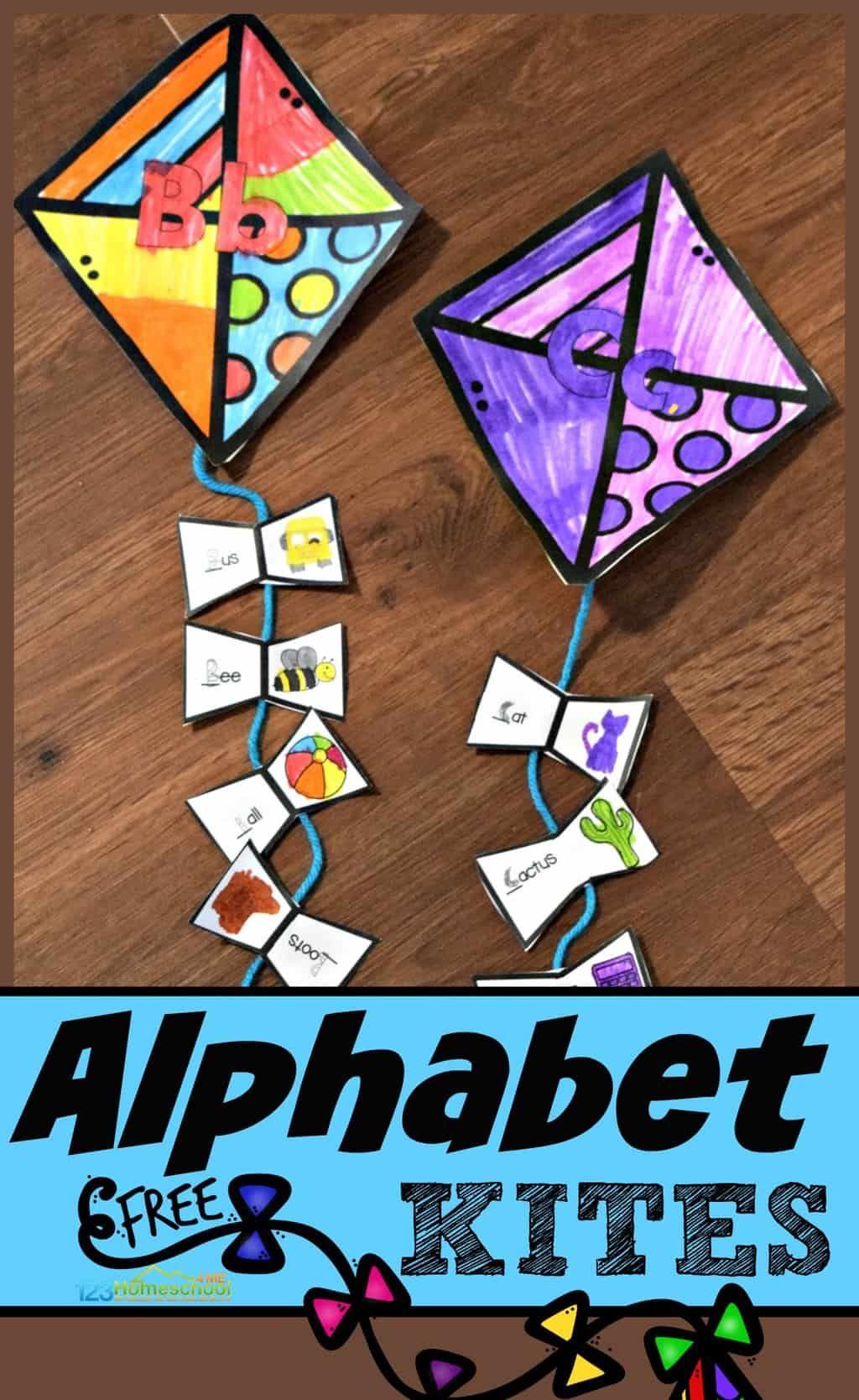 Kite Alphabet Craft