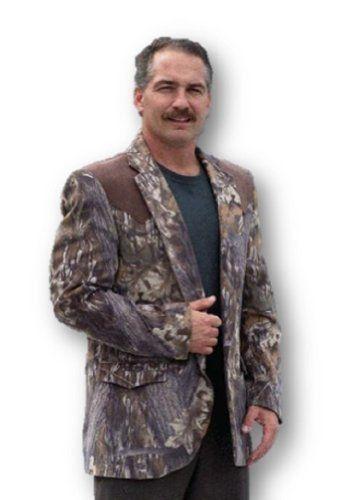 Mossy Oak Sport Coat Blazer By The Usa Makers Of Duck