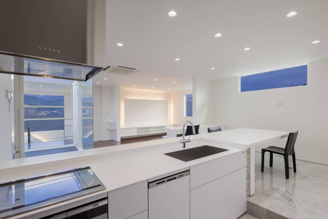 四万十の家: 株式会社細川建築デザインが手掛けたtranslation missing: jp.style.キッチン.modernキッチンです。