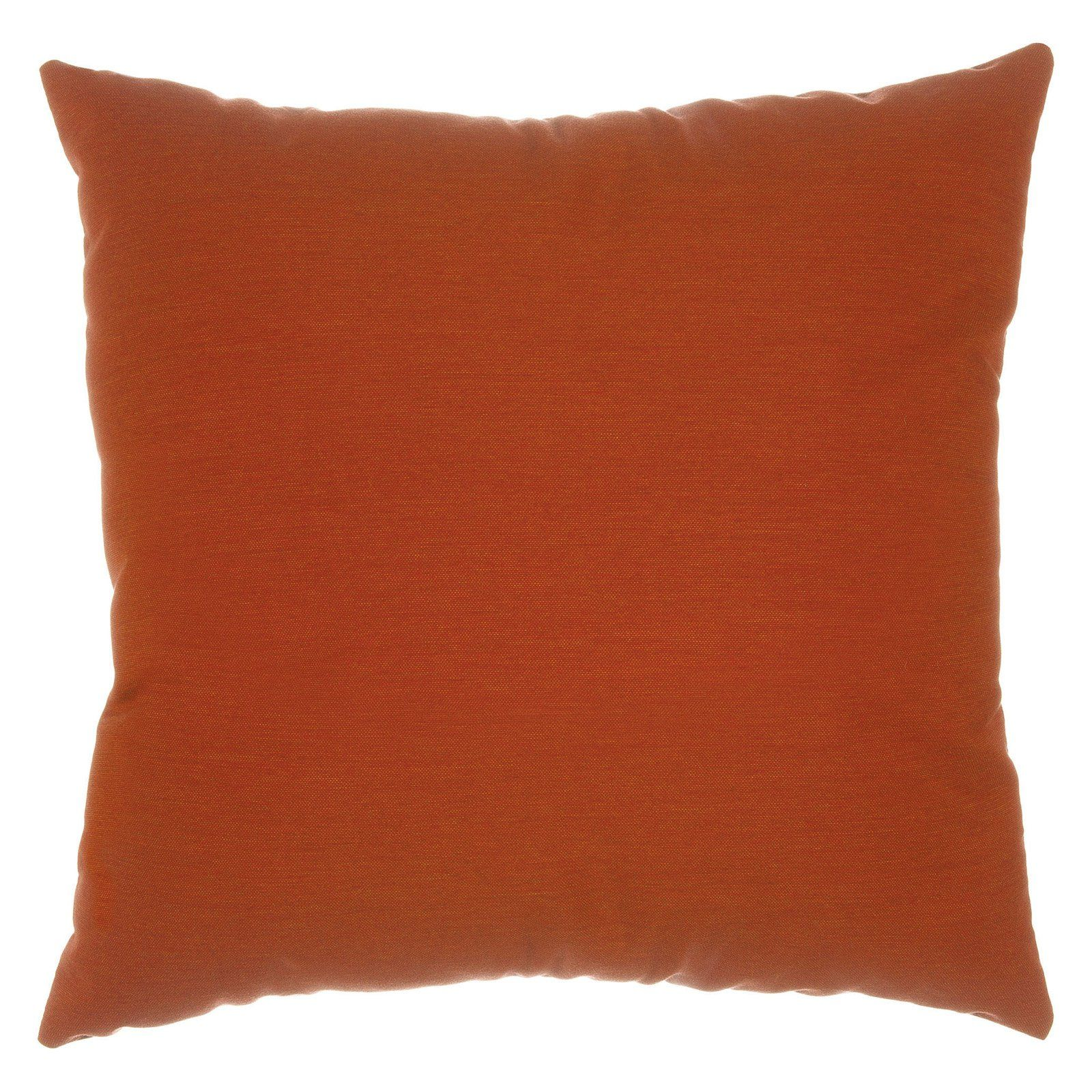 Pawleys Island Sunbrella Solid Outdoor Pillow Brick ...