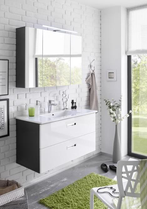spiegelschrank günstig 100cm badschrank holz antik