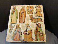 home interiors homco nativity set 5599 in tray homco figurines
