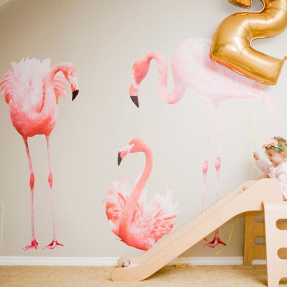 Mommo design flamingo trend kids furniture and details for Fenicottero arredamento