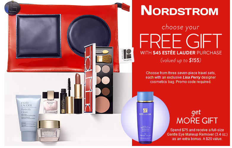 List of all Estee Lauder Gift with Purchase Offers