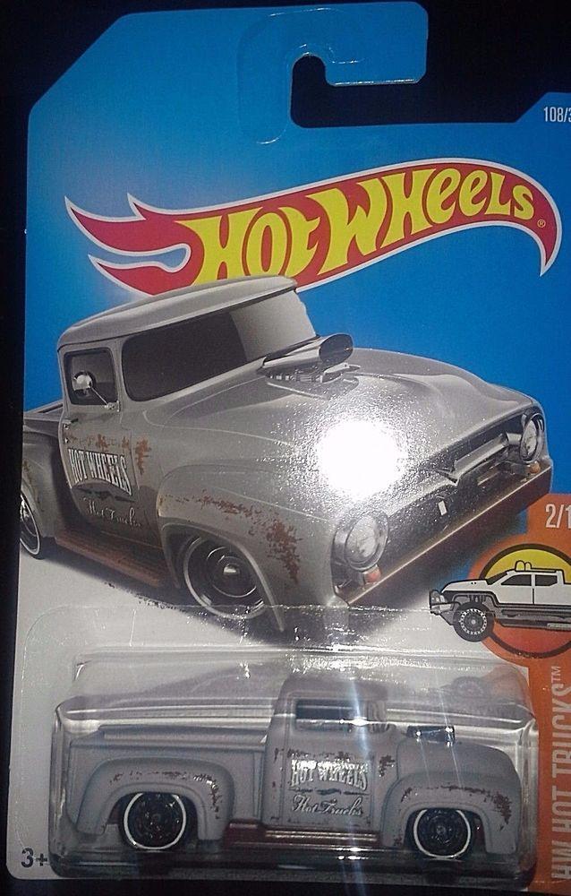 Hot Wheels 2017 Hot Trucks 2 10 Custom 56 Ford Truck Cars And