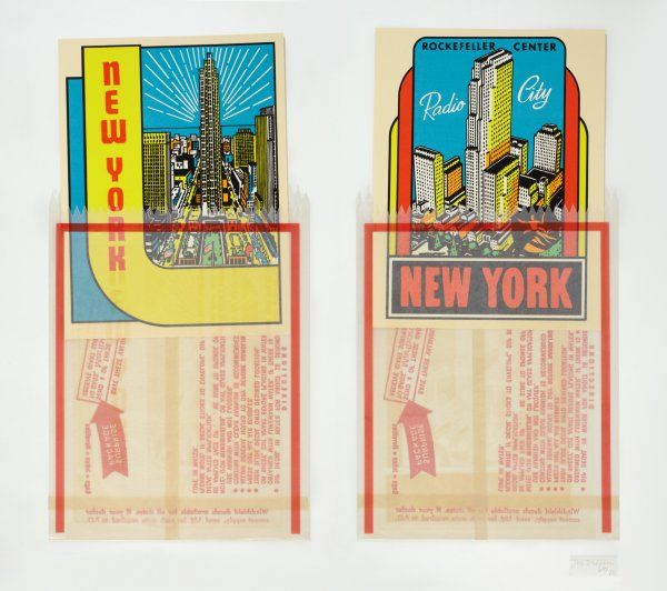 N.Y. Decals 3 & 4 - Joe Tilson prints http://www.printed-editions.com/art-print/joe-tilson-ny-decals-3--4-51745