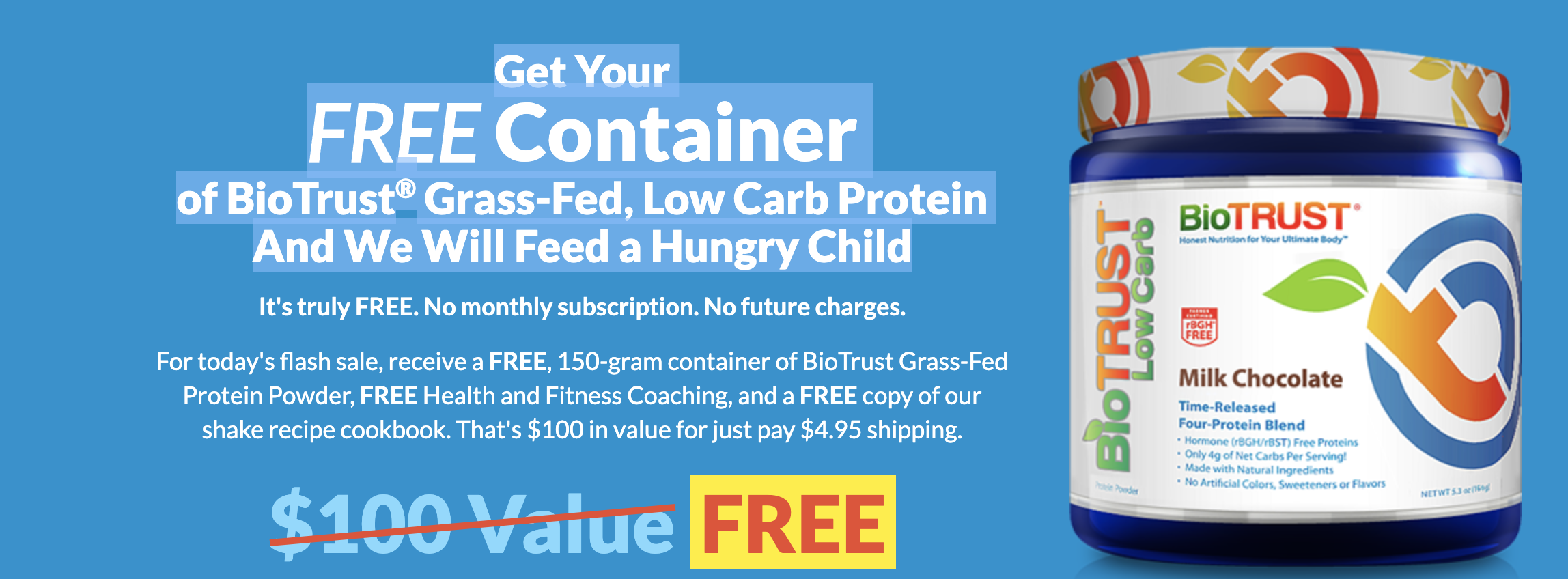 Get Your Free Container! Grass-Fed Low Calorie Protein ...#protein #grassfed #free #fitness #bodybui...