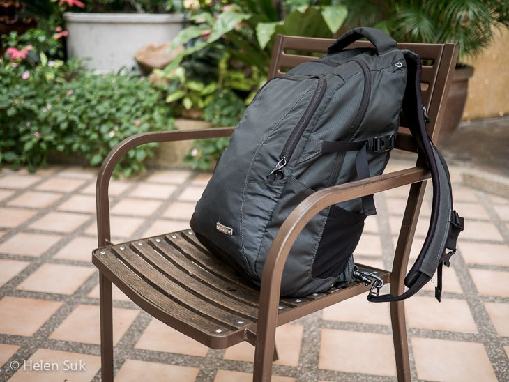 Pacsafe Anti Theft Backpack Review The Ultimatesafe 22l Anti