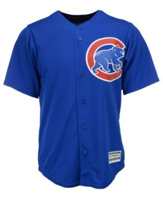 ef71a72d Majestic Men Anthony Rizzo Chicago Cubs Replica Jersey   Products ...