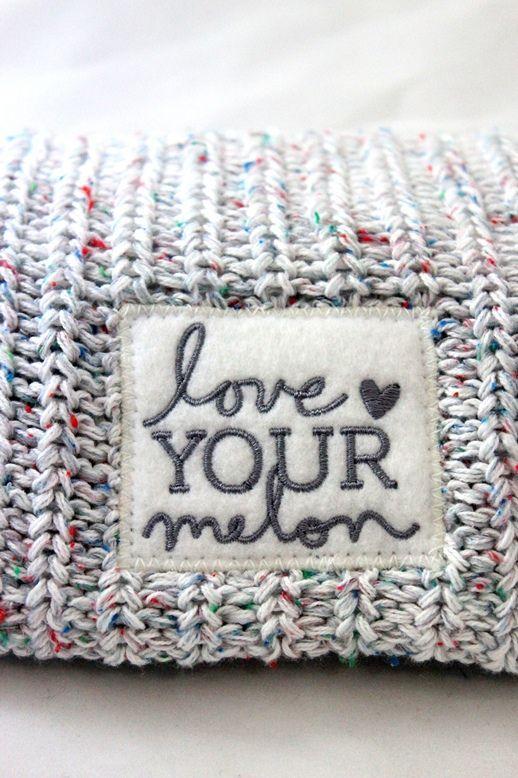 Confetti Beanie  3 love your melon  0aaeb0f84b01