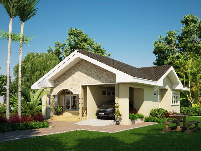 To own a modern house design comes in every family s dream for Amazing bungalow designs