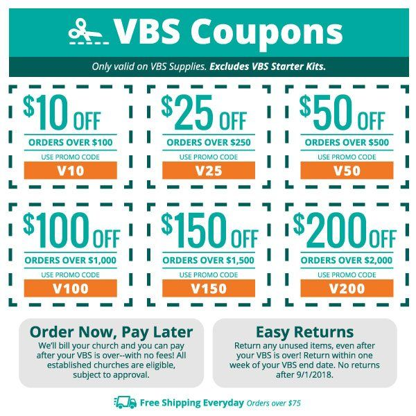 concordia supply coupons