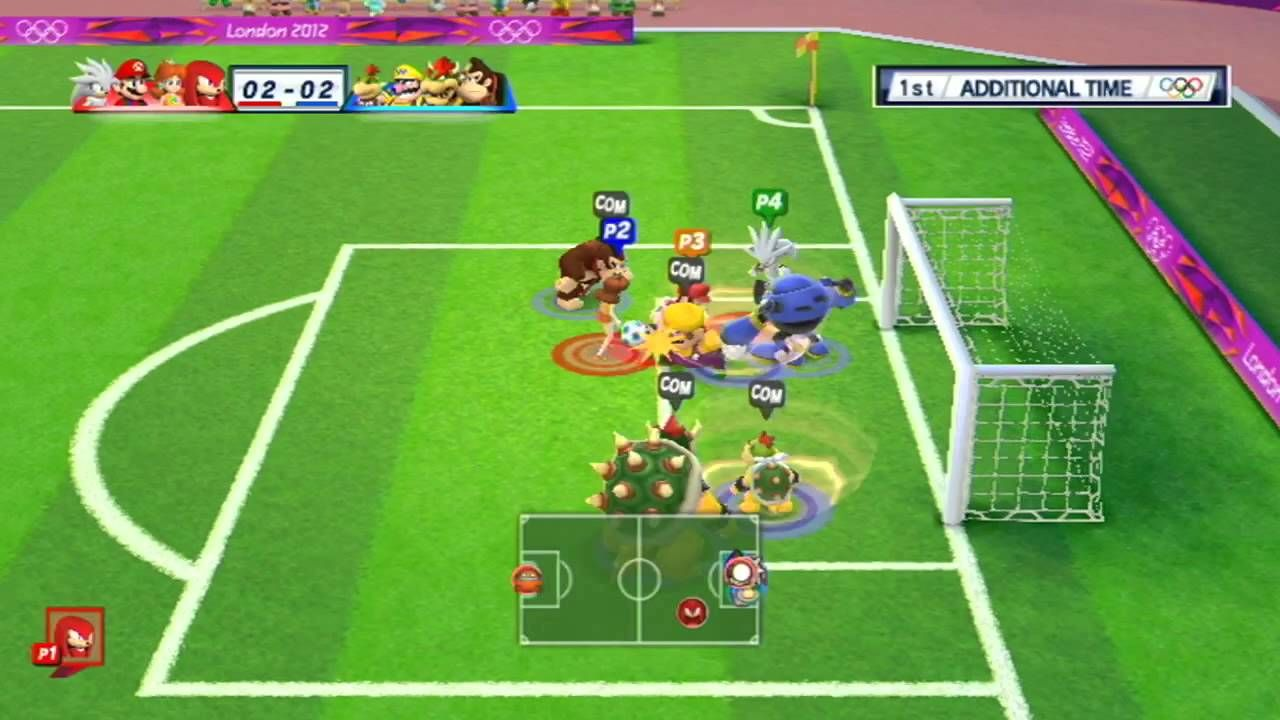 mario sonic football games Google Search Jeux