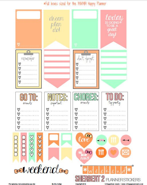 """Hello blog followers and visitors! I hope you are excited about the weekend and are ready for your next """"pretty planning"""" session in your Happy Planner. Many of you set time for your weekly planning on Sunday evening, so I wanted to get this out to you before then! Today, I am releasing planner stickers … … Continue reading →"""