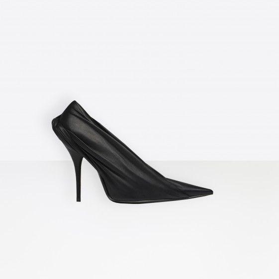 Shop Balenciaga Extreme Pointed Toe Pumps Black Women in Balenciaga Sale  online with Balenciaga Sneakers Sale and Cheap Balenciaga. e7571a797