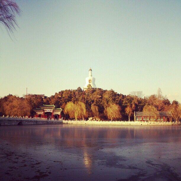 北海公园 Beihai Park in 北京市...