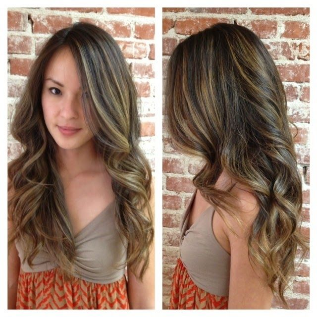 Beautiful honey hair color highlights for summer