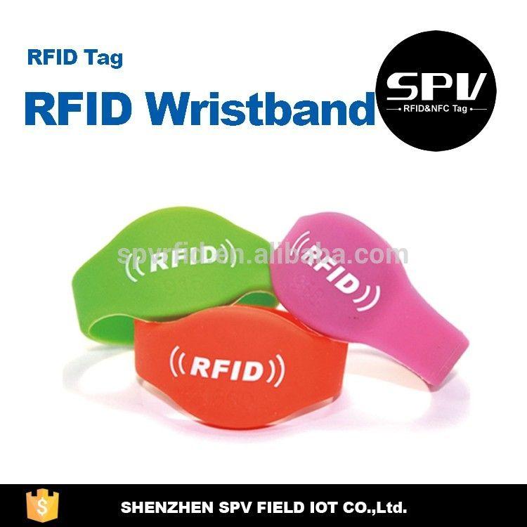 EPC CLASS 1 GEN2 ISO18000-6C Waterproof RFID Wristband ...